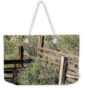 Secluded Historic Corral In Sonoran Desert Weekender Tote Bag