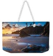 Second Beach Sunset Weekender Tote Bag