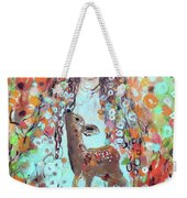 Second Chakra  Angel A Supernova Who Grew Up To Be Stardust Weekender Tote Bag