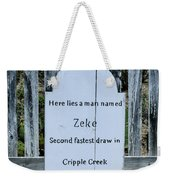 Second Fastest Draw Weekender Tote Bag