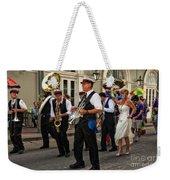 Second Line Wedding On Bourbon Street New Orleans Weekender Tote Bag