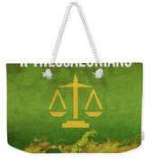 Second Thessalonians Books Of The Bible Series New Testament Minimal Poster Art Number 14 Weekender Tote Bag