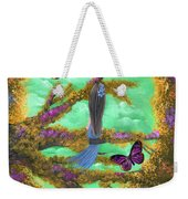 Secret Butterfly Garden Weekender Tote Bag