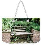 Secret Garden Bench Weekender Tote Bag