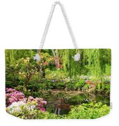 Secret Garden Pond Weekender Tote Bag