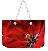 Secret Of The Red Tulip Weekender Tote Bag