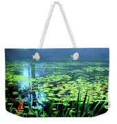 Secret Quiet Pond Weekender Tote Bag