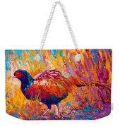 Secrets In The Grass - Pheasant Weekender Tote Bag