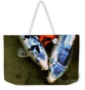 Secrets Of The Wild Koi 10 Weekender Tote Bag