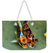 Secrets Of The Wild Koi 15  Weekender Tote Bag