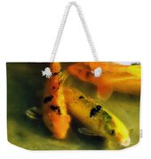 Secrets Of The Wild Koi 9 Weekender Tote Bag