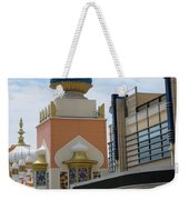 Sectional View Tajmahal Hotel Atalantic Beaches And Board Walk America Photography By Navinjoshi At  Weekender Tote Bag