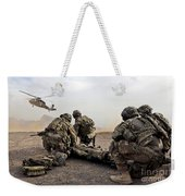 Security Force Team Members Wait Weekender Tote Bag