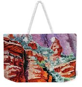 Sedona Arizona Rocky Canyon Weekender Tote Bag