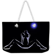 Seduction In The Moonlight Weekender Tote Bag