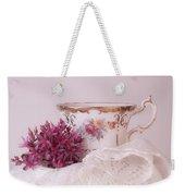 Sedum Flower Still Life Weekender Tote Bag