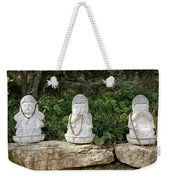 See Hear Speak No Evil Weekender Tote Bag