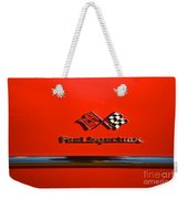 See The U.s.a. In Your Chevrolet 3 Weekender Tote Bag