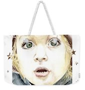 See The World Through My Eyes  Weekender Tote Bag