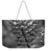 Seed Pod Black And White Weekender Tote Bag