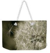 Seedy Dandelion Weekender Tote Bag