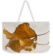 Seeing Double Autumn Leaf  Weekender Tote Bag