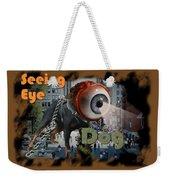 Seeing Eye Dog Weekender Tote Bag