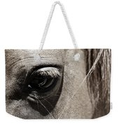 Stillness In The Eye Of A Horse Weekender Tote Bag