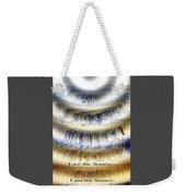 Seeing The Source Weekender Tote Bag