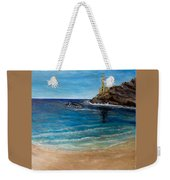 Seek A Source Of Light Built On A Firm Foundation To Guide You Safely To Shore Weekender Tote Bag