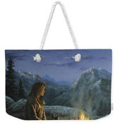 Seeking Solace Weekender Tote Bag by Kim Lockman
