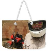 Sego Canyon Self Portrait Weekender Tote Bag