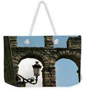 Segovia Aqueduct Weekender Tote Bag