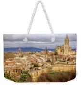 Segovia Cathedral View Weekender Tote Bag