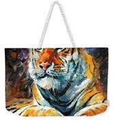 Seibirian Tiger  Weekender Tote Bag