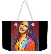 Selena Queen Of Tejano  Weekender Tote Bag