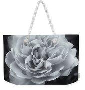Selenium White Rose Weekender Tote Bag