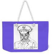 Self Portrait As Soldier Weekender Tote Bag