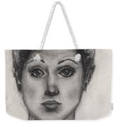 Self Portrait At Age 18 Weekender Tote Bag
