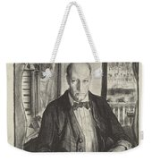 Self-portrait, First State By George Bellows 1882-1925 Weekender Tote Bag