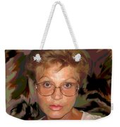 self portrait II Weekender Tote Bag
