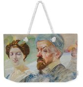 Self-portrait Weekender Tote Bag