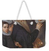 Self Portrait Of The Painter And His Family Weekender Tote Bag