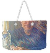 Self Portrait One - Light Through The Window Weekender Tote Bag