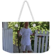 Self Portrait Two - After The Jungle Rescue In Costa Rica Weekender Tote Bag