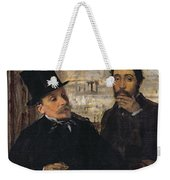 Self Portrait With Evariste De Valernes Weekender Tote Bag