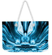 Self Reflection - Blue Weekender Tote Bag