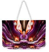 Self Reflection - Purple Orange Weekender Tote Bag