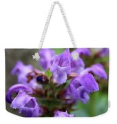 Selfheal Up Close Weekender Tote Bag