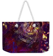 Selfie Monkey Self Portrait  Weekender Tote Bag